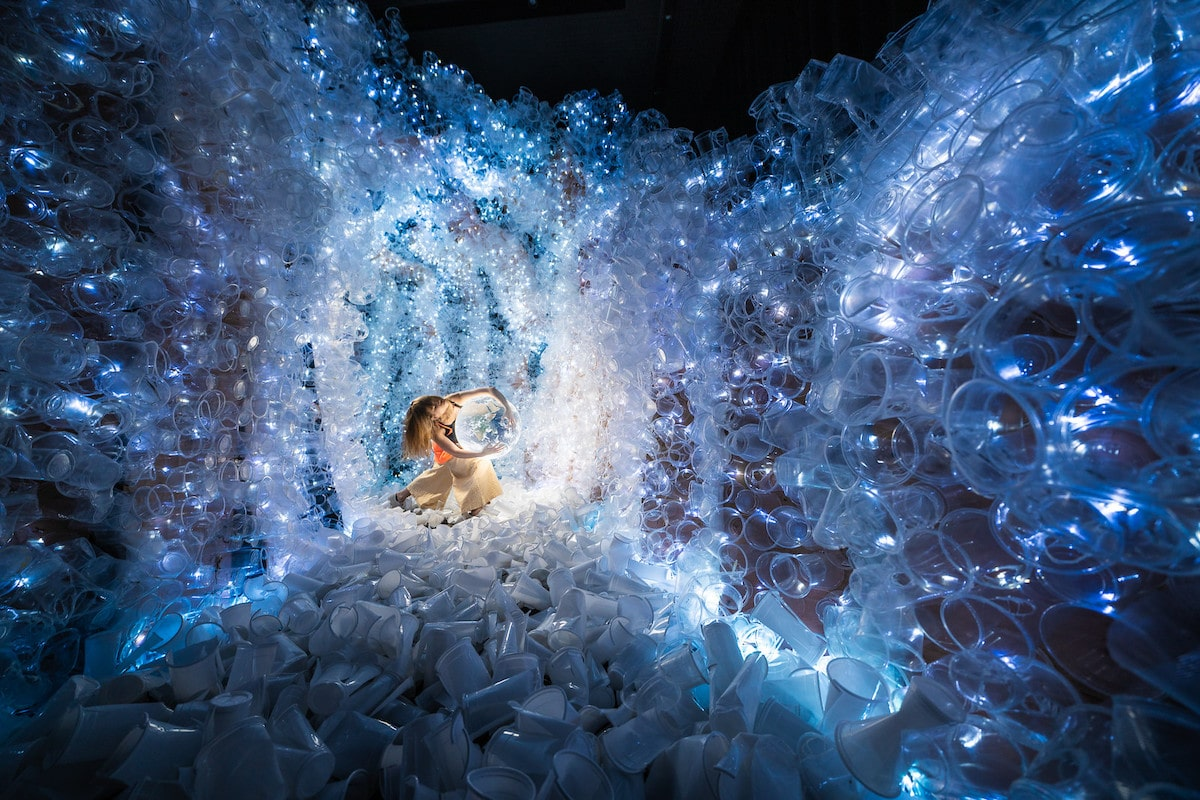 Immersive Social Impact Art Project Is A Crystal Cave Of