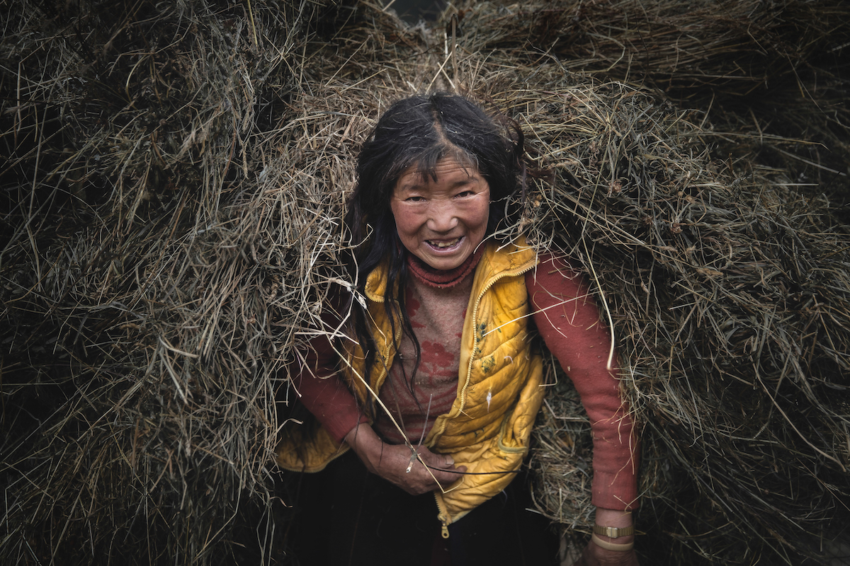 Faces of Bhutan by Andrew Studer