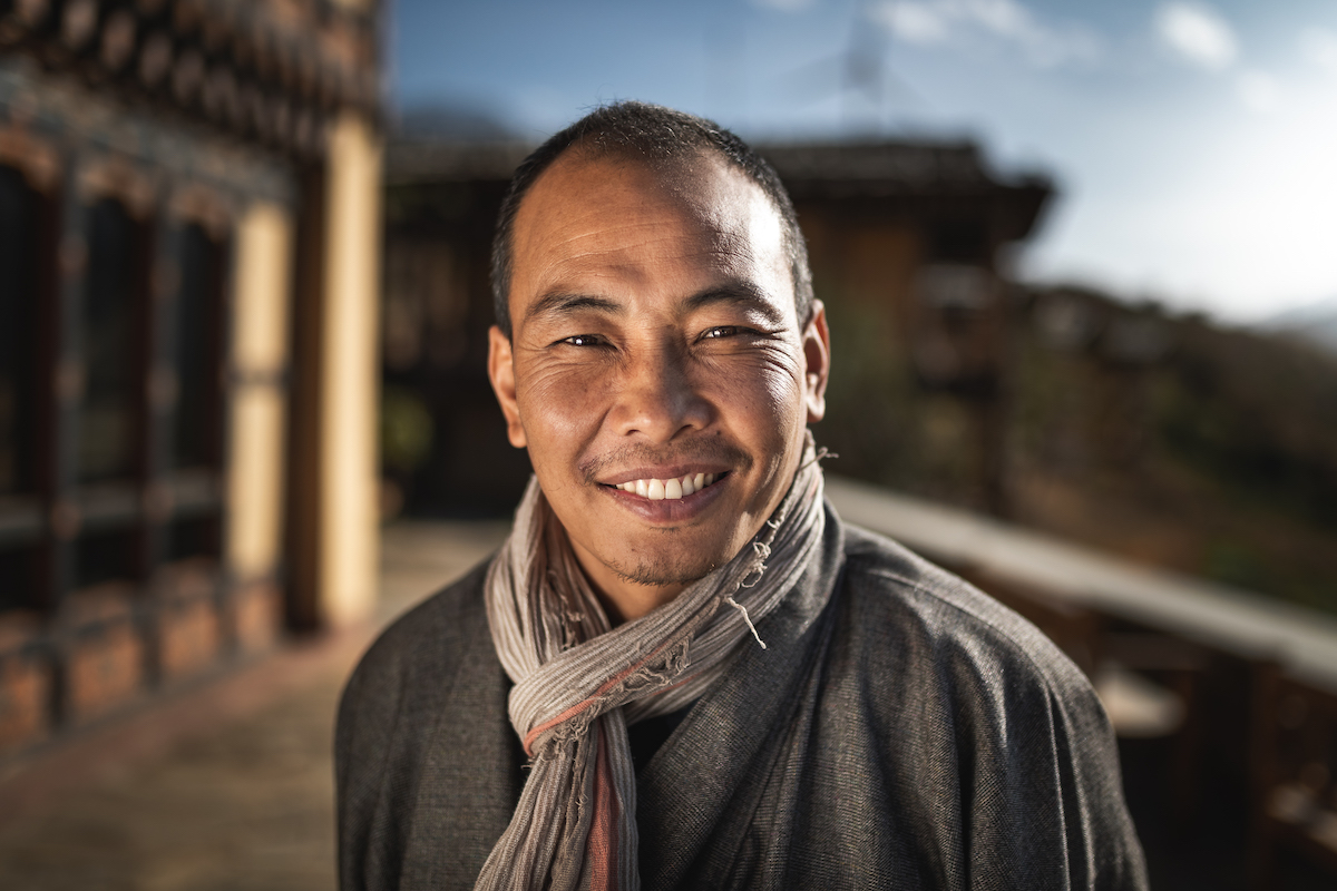 Portrait Photography from Bhutan by Andrew Studer