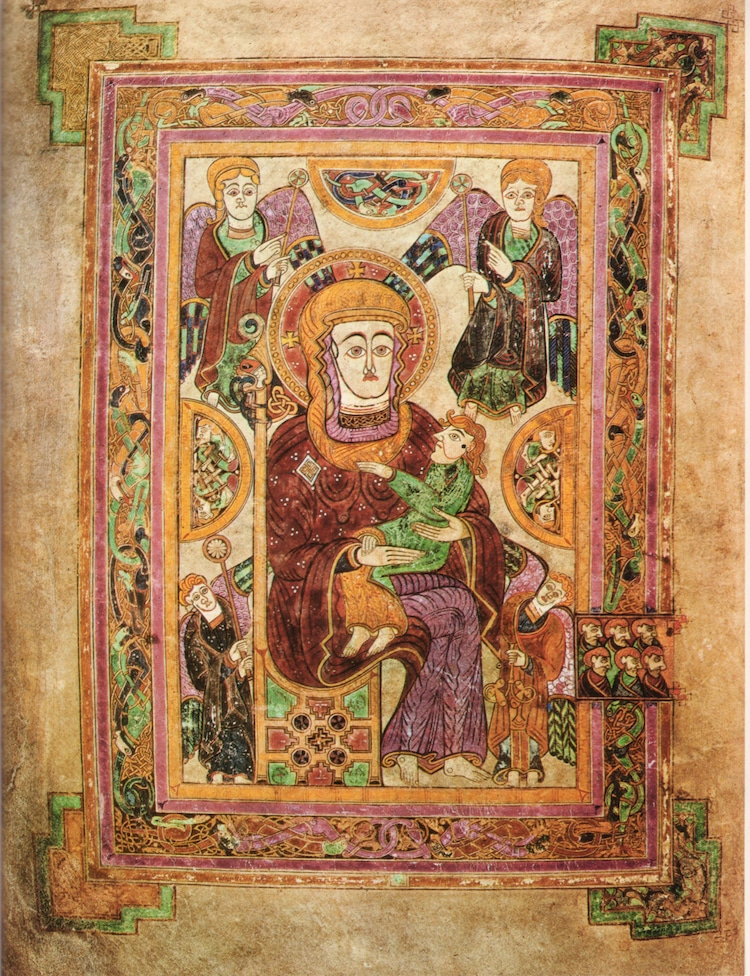 World's Most Famous Illuminated Manuscript - The Book of Kells