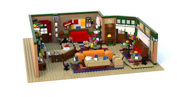 Central Perk Friends LEGO Ideas