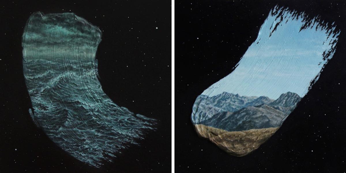 Surreal Landscape Art by David Ambarzumjan