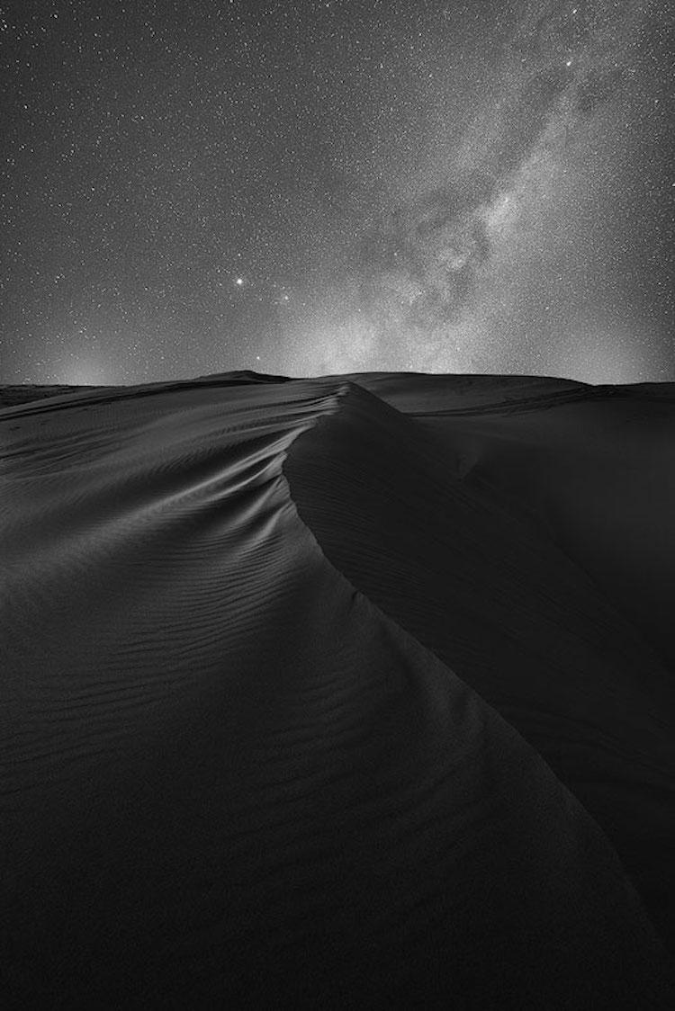 Astrophotography in the Desert by Anton Gorlin