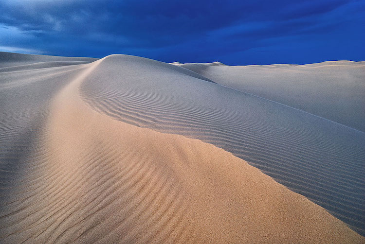 Photo of a Sand Dune by Anton Gorlin