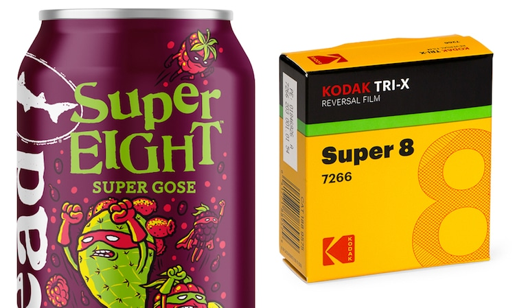 SuperEIGHT Beer by Dogfish Head + Kodak