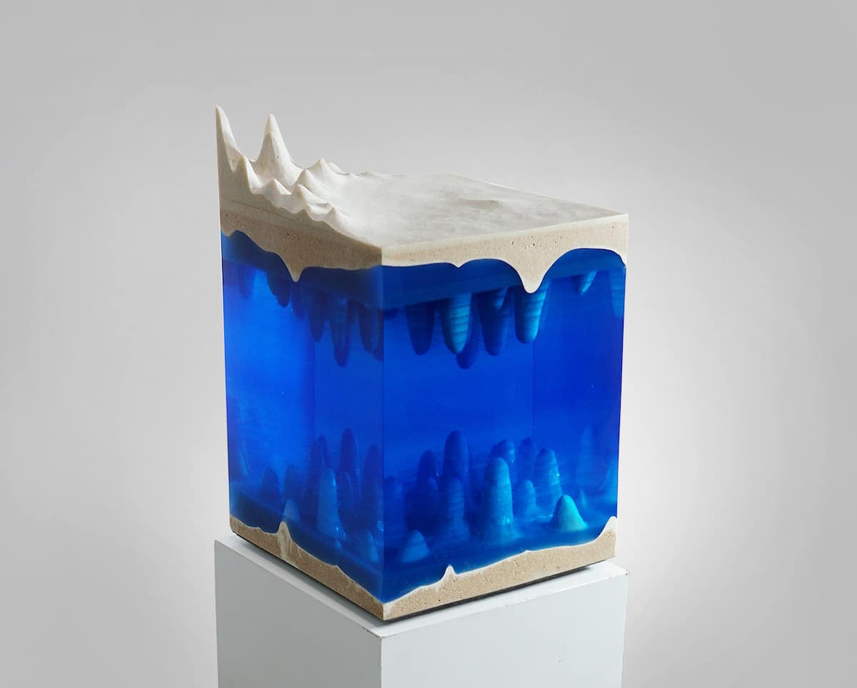 Acrylic Sculpture by Eduard Locota