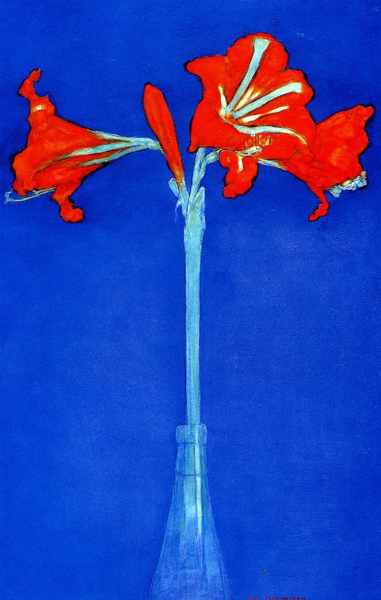 Pinturas de flores famosas
