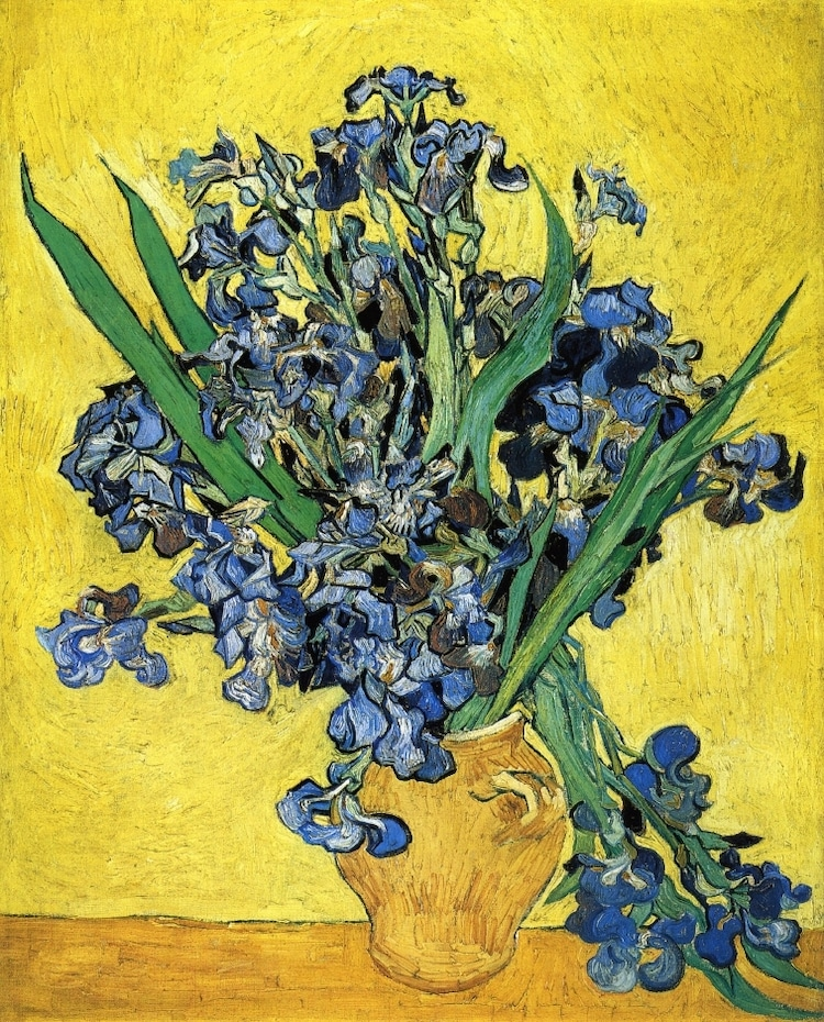 Flower Paintings by Van Gogh