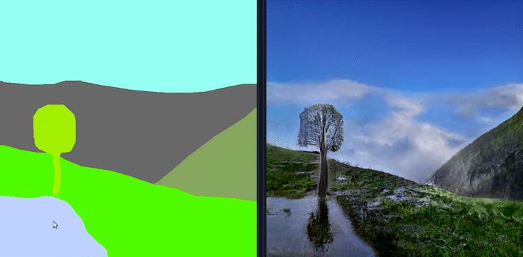 GauGAN - NVIDIA - AI Landscape Maker