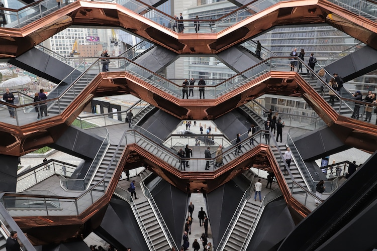 Vessel at Hudson Yards by Heatherwick Studios