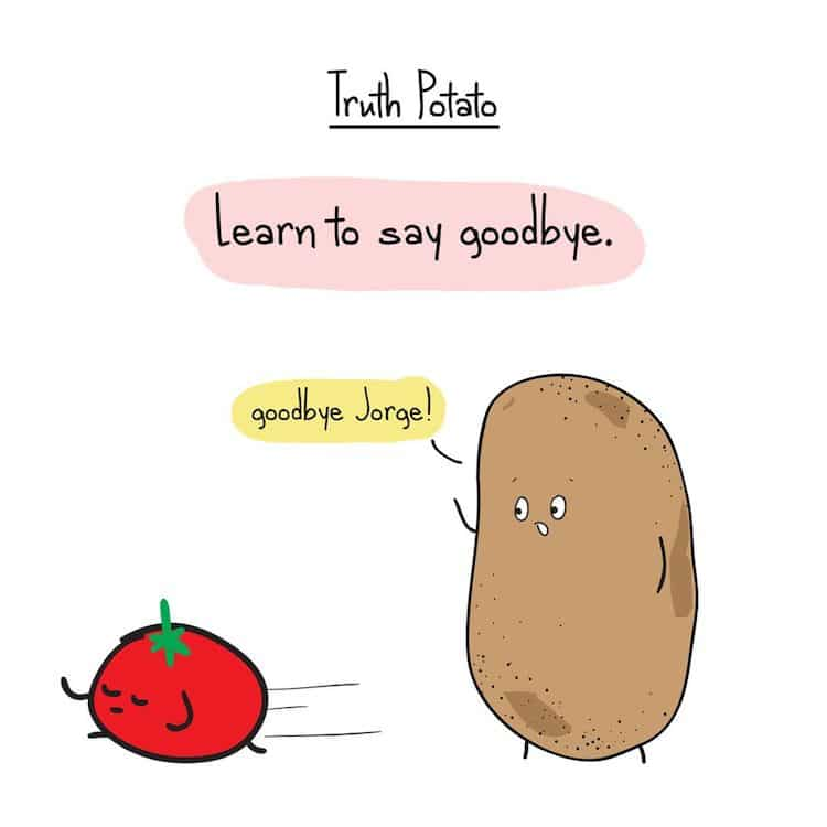 Truth Potato Instagram Comic
