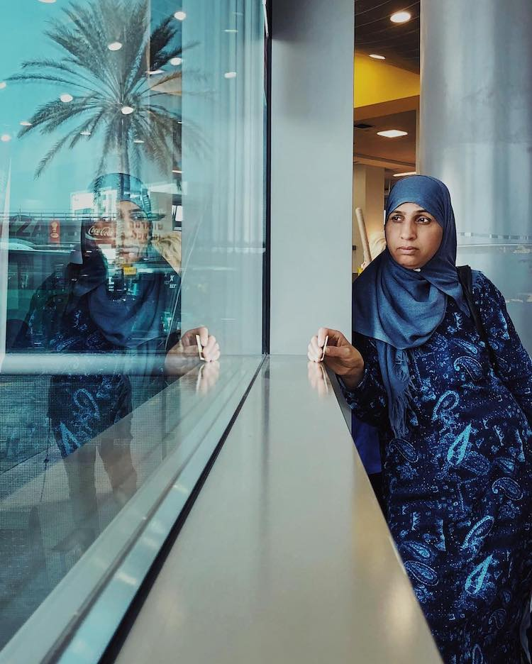 retratos tomados con iPhone por Dina Alfasi