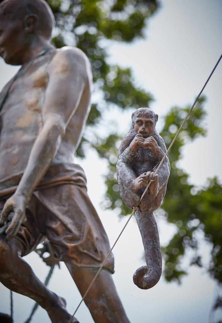 JerzyKędziora esculturas en equilibrio