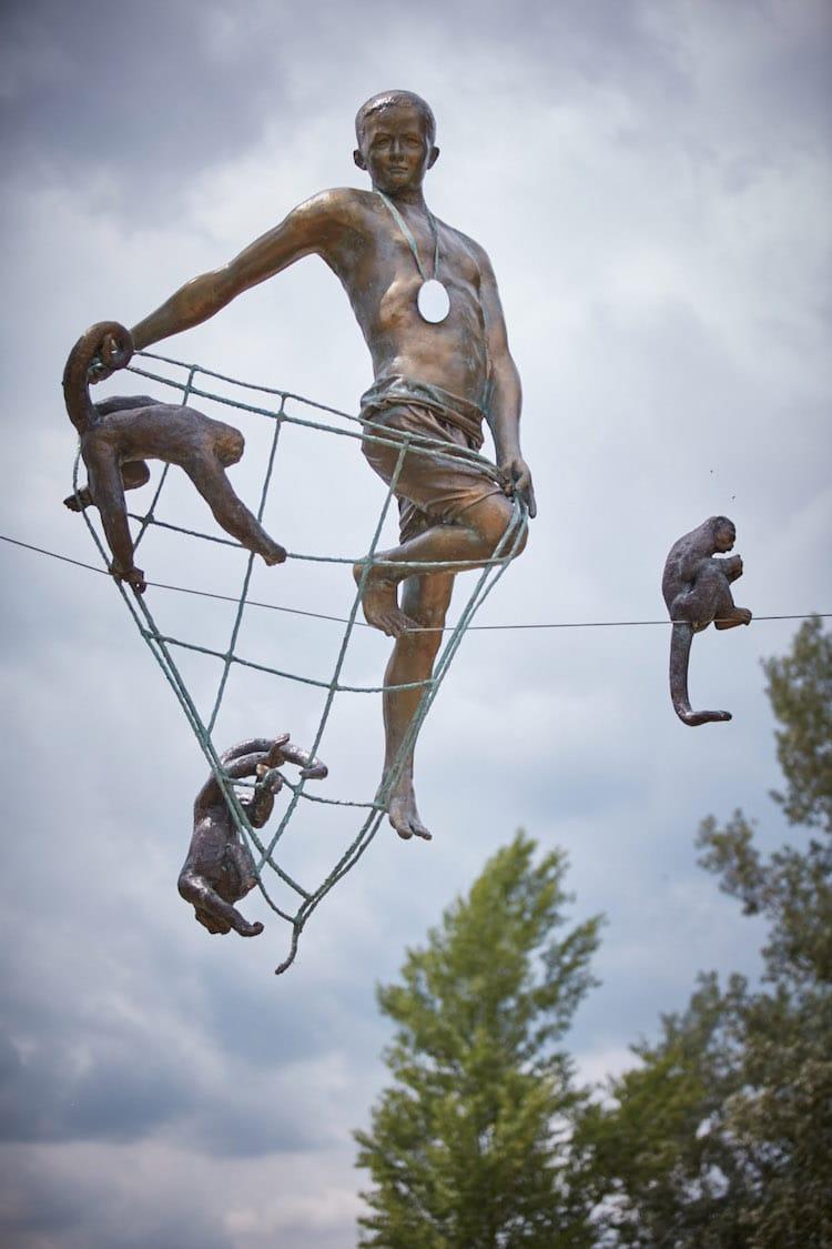 JerzyKędziora escultor polaco