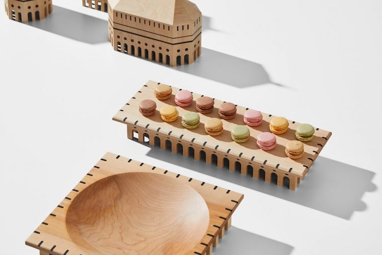 Utopia - Wood Tabletop Accessories by Mad Lab
