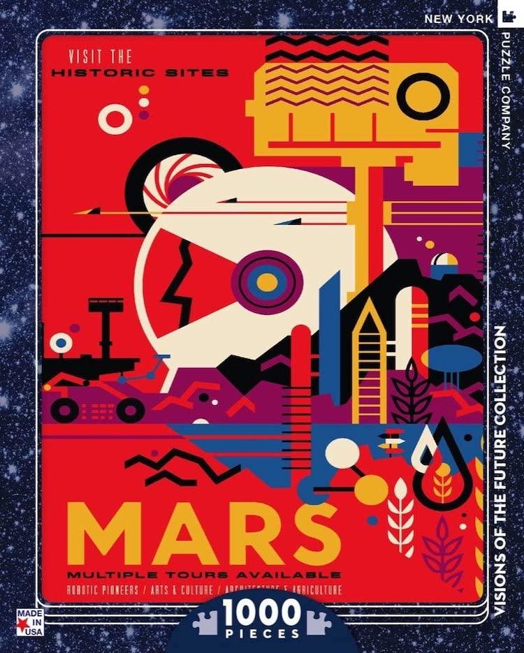 Mars 1000 Piece Jigsaw Puzzle