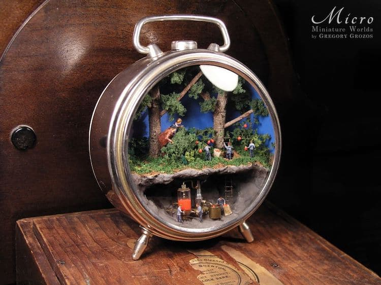 Miniature Worlds in Antique Jewelry by Gregory Grozos