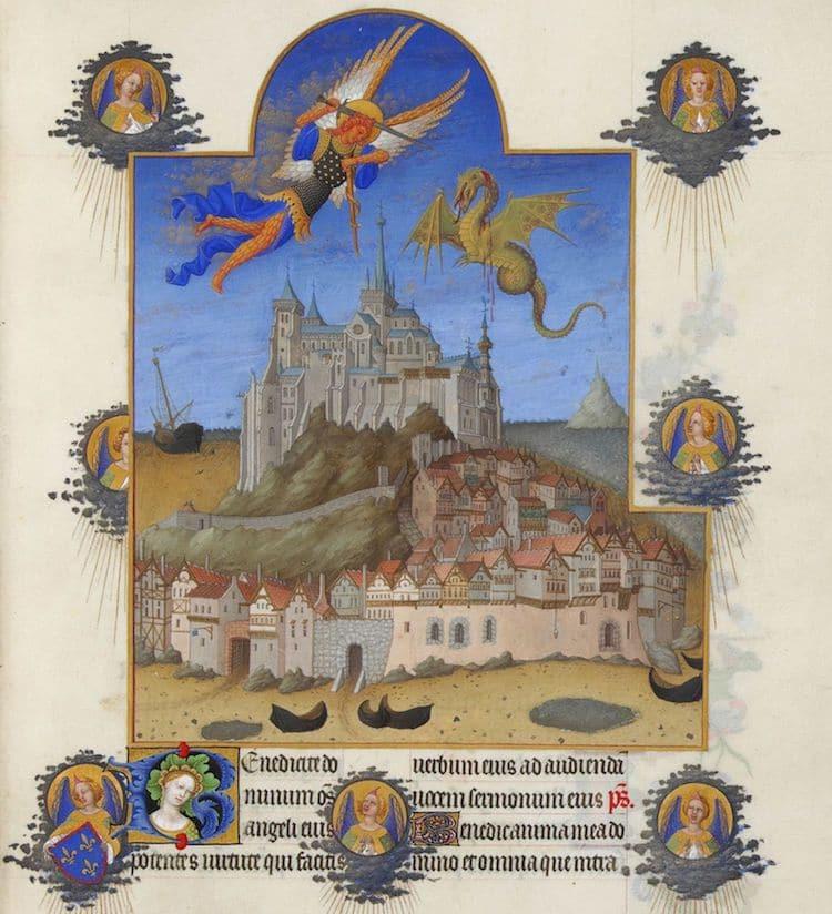 Mont-Saint-Michel History