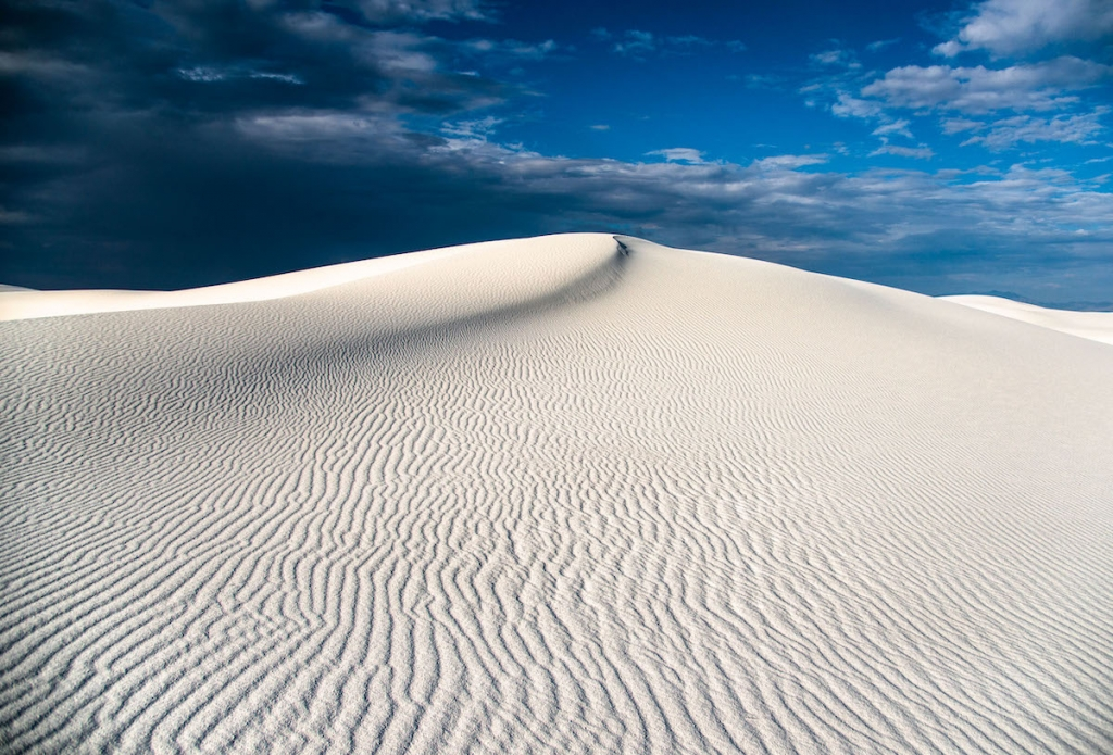 White Sands Photo by Navid Baraty