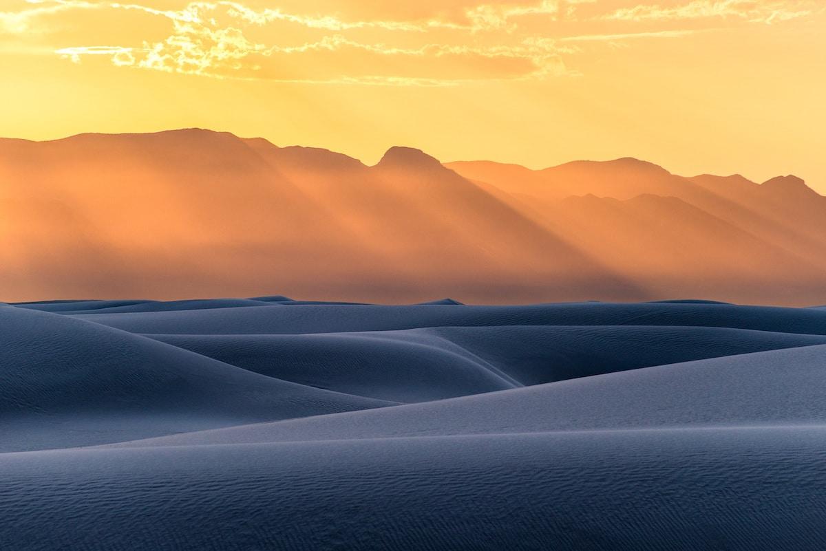 Foto Arenas Blancas Nuevo México por Navid Baraty