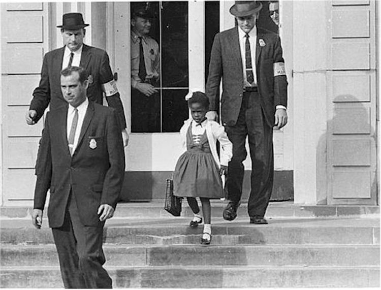 The Problem We All Live With Norman Rockwell Ruby Bridges Painting Ruby Bridges Norman Rockwell