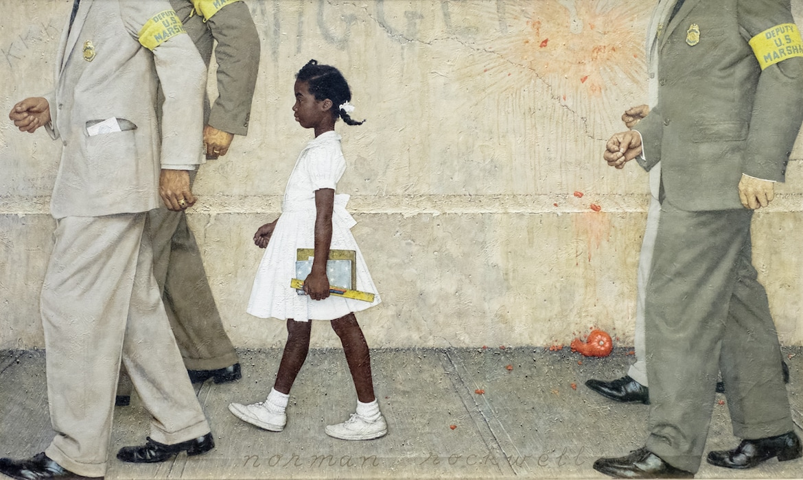 "Norman Rockwell's ""The Problem We All Live With"""