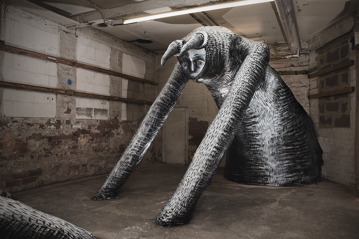 Mausoleum of Giants by Phlegm