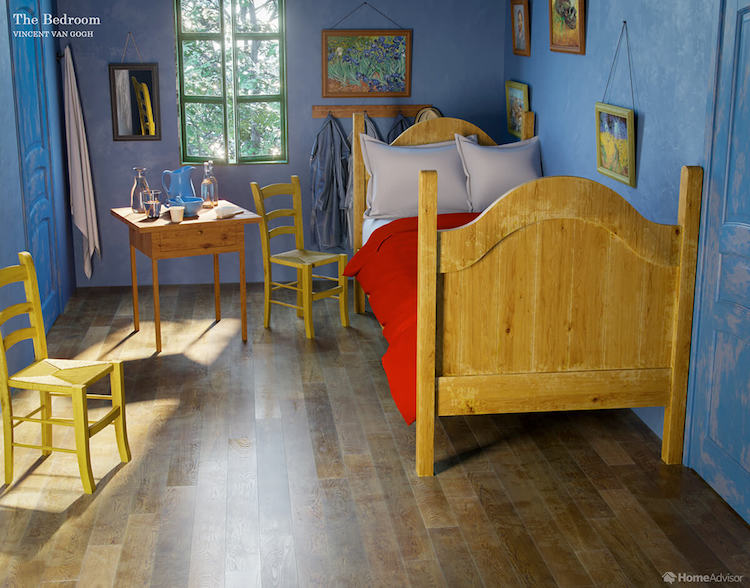 Rooms From Famous Paintings Come to Life by NeoMam