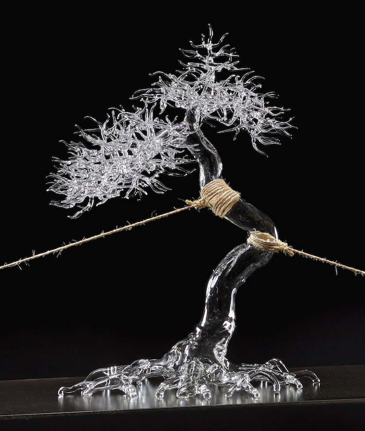 Blown Glass Sculptures by Simone Crestani