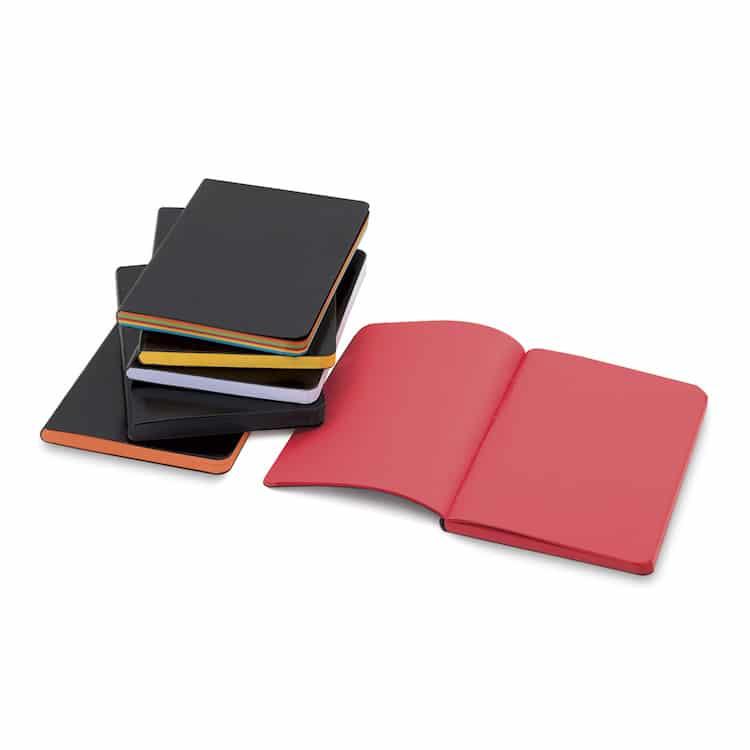 Cuaderno de cuero sintético de Shizen Designs