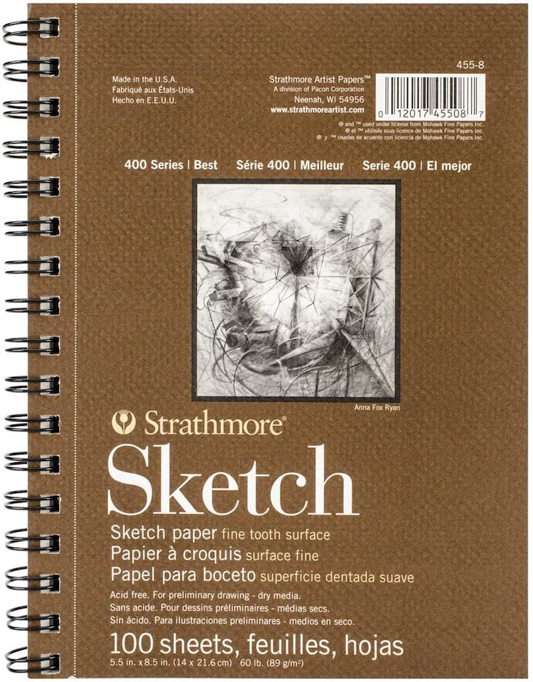 Cuaderno de dibujo de Strathmore