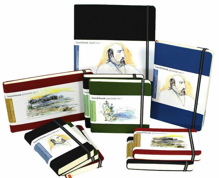 Global Art Hand Book Artist Journal