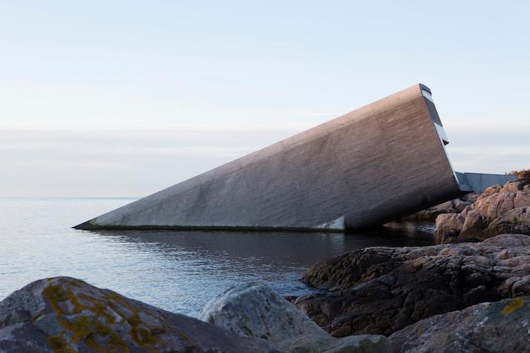 Snohetta Designed Underwater Restaurant