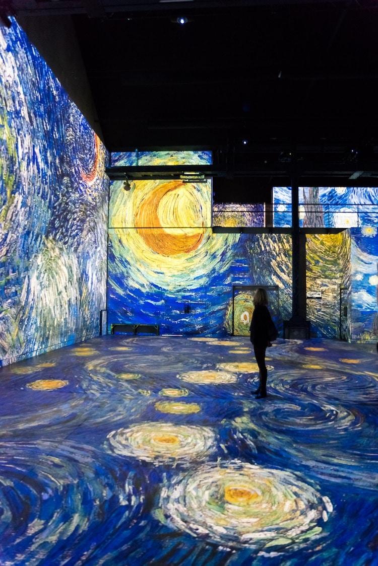 Atelier des Lumières Van Gogh Exhibit Culturespaces
