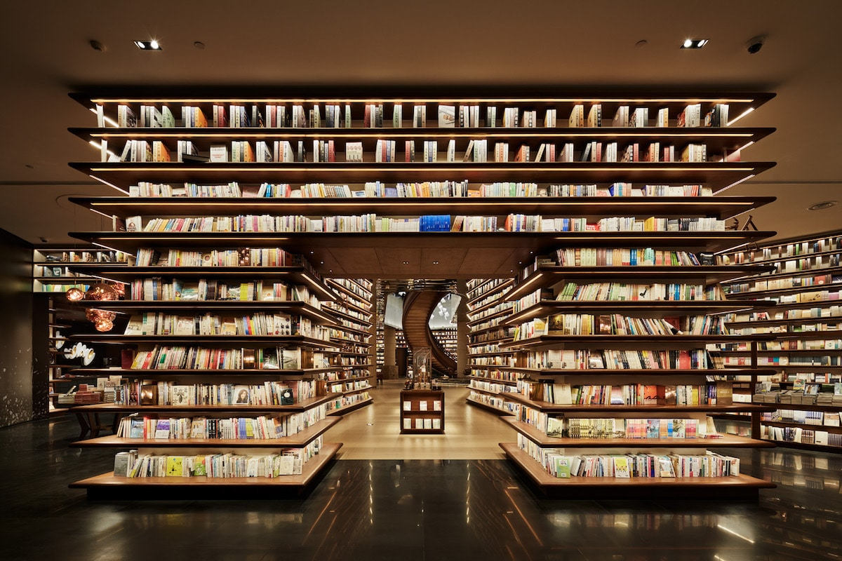 Beautiful Bookstore in China