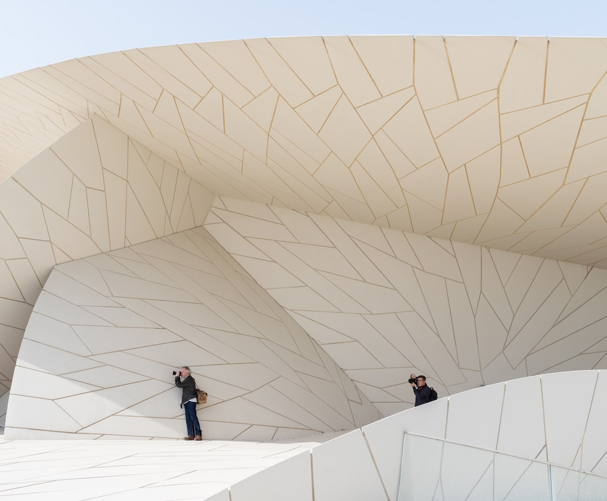 Architect Jean Nouvel Designs the National Museum of Qatar