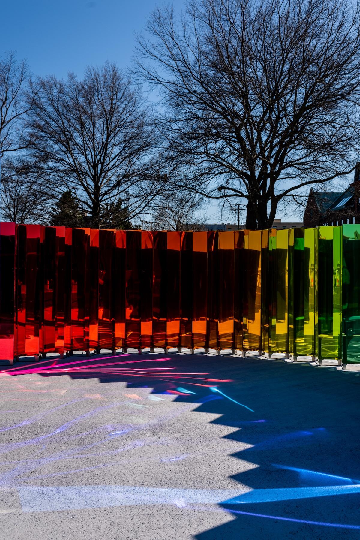 Instalación de arte público por Softlab en Alexandra, Virginia