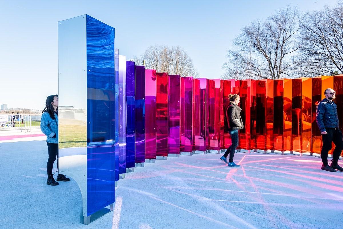 Public Artpiece In Alexandria Is An Interactive
