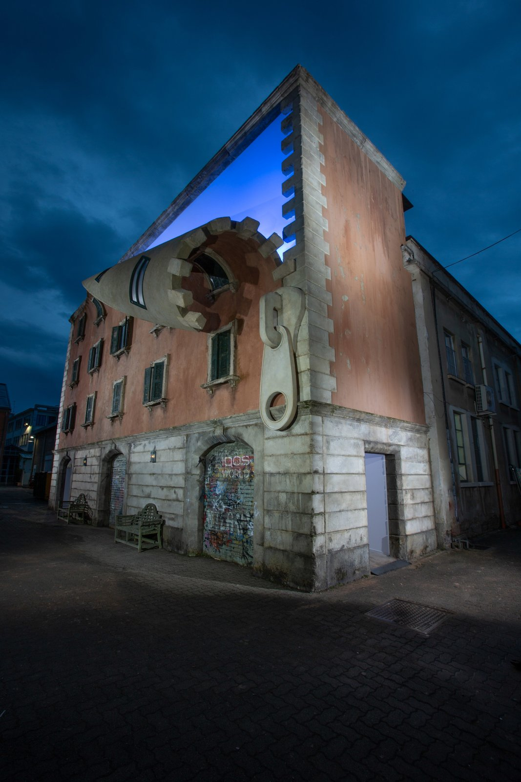 Alex Chinneck Sculpture for Milan Design Week