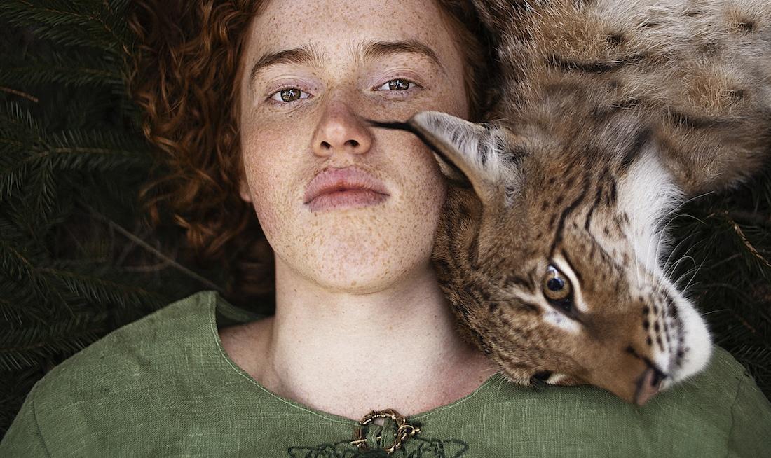 Redhead Portraits by Alexandra Bochkareva
