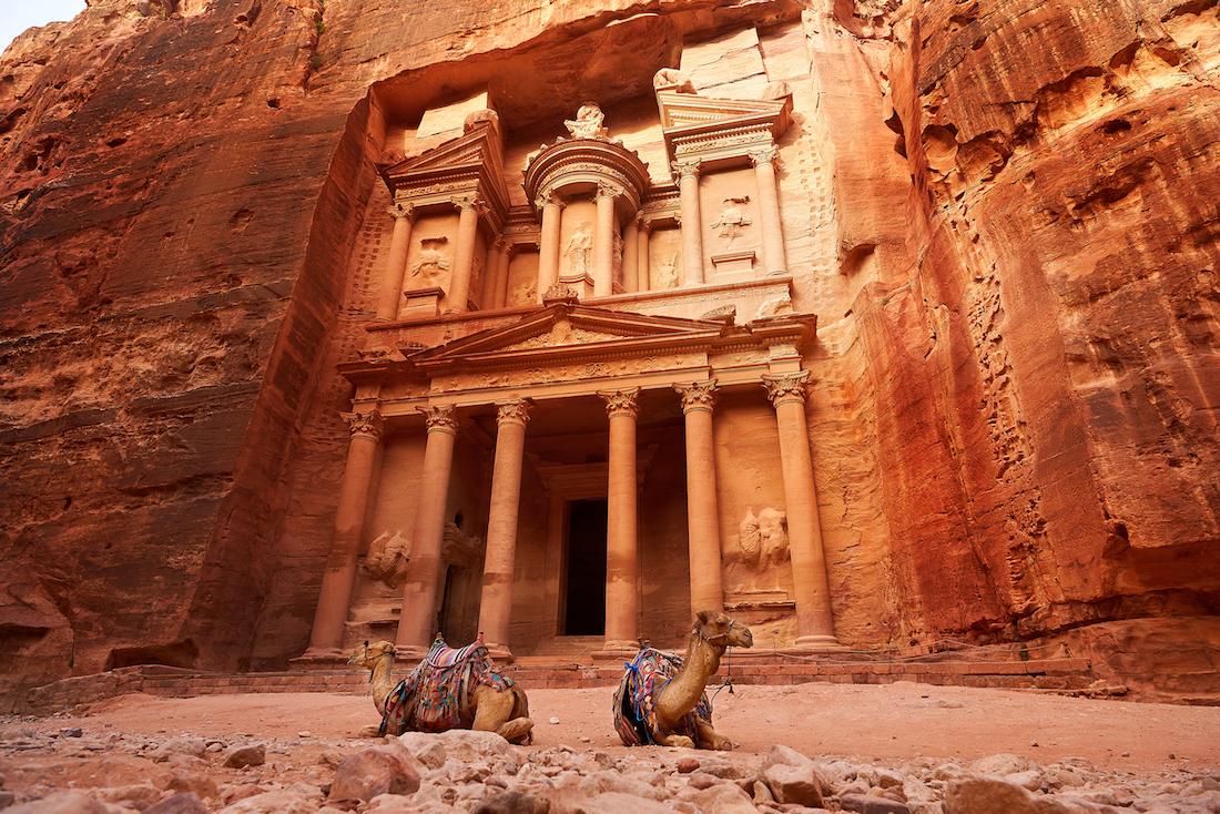 Petra là một thành phố được xây dựng vào thế kỷ thứ 4 trước Công nguyên