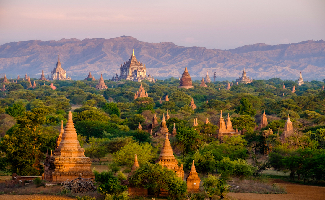 Bagan Temples Ancient Ruins