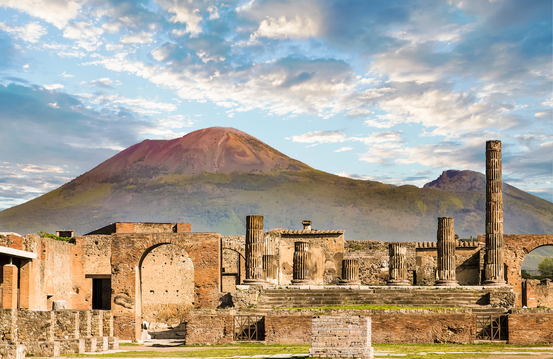 Pompeii Ruins Ancient Ruins in Italy