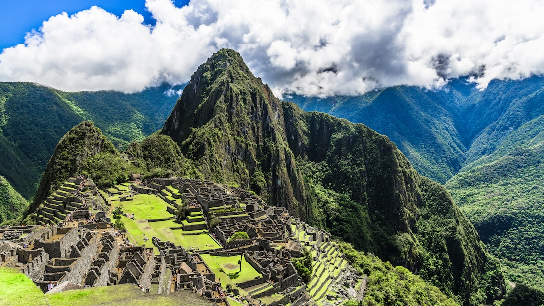 Machu Picchu là một trong những địa điểm ngoạn mục nhất của Nam Mỹ