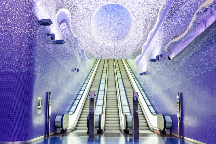 Most Beautiful Underground Stations