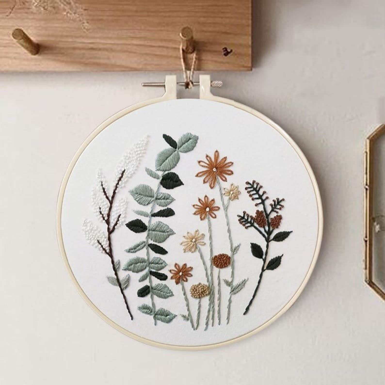 Beginner Embroidery Kit by The Cherry Blossom