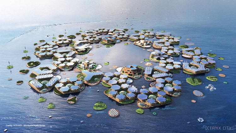 Floating City by Bjarke Ingels