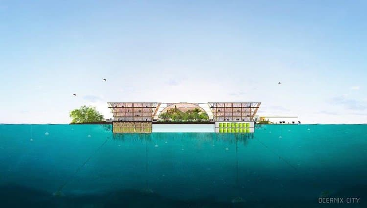 Floating Cities for UN Habitat by BIG Architects