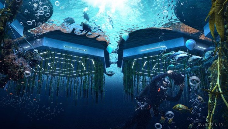 Bjarke Ingels - BIG - UNHabitat and Oceanix