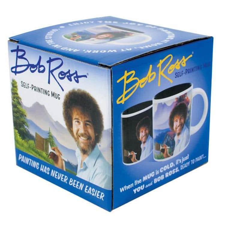 Bob Ross Mug Bob Ross Heat Activated Mug Bob Ross Color Changing Mug